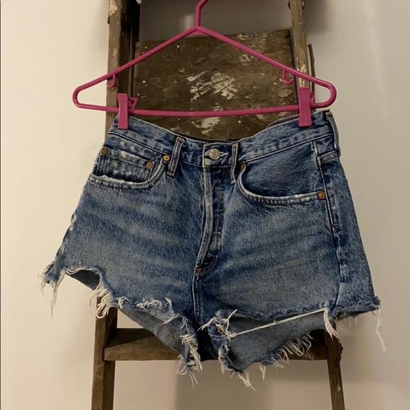 Agolde Premium Denim shorts